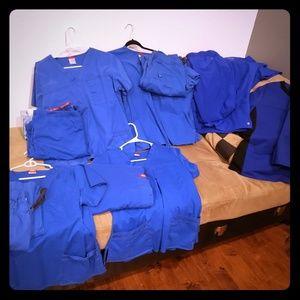 Medical scrubs, pant and top sets